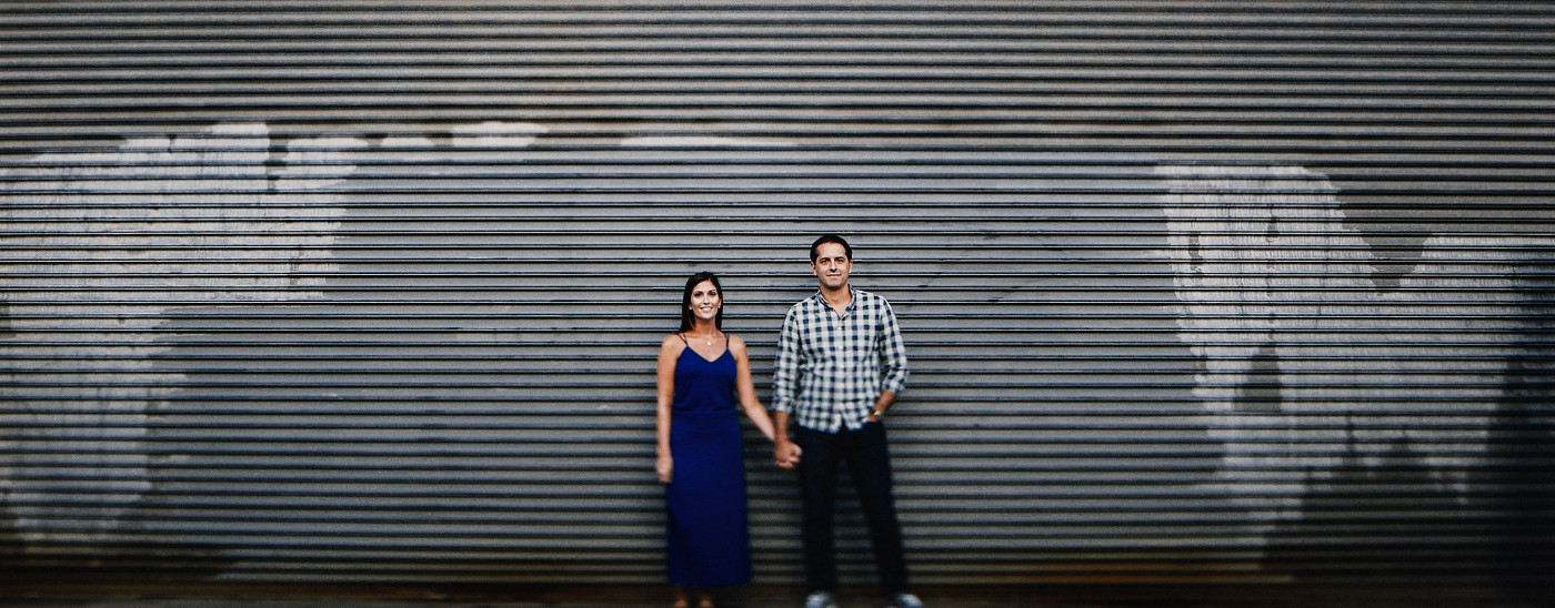 Sam & Mark | Race Street Pier Engagement