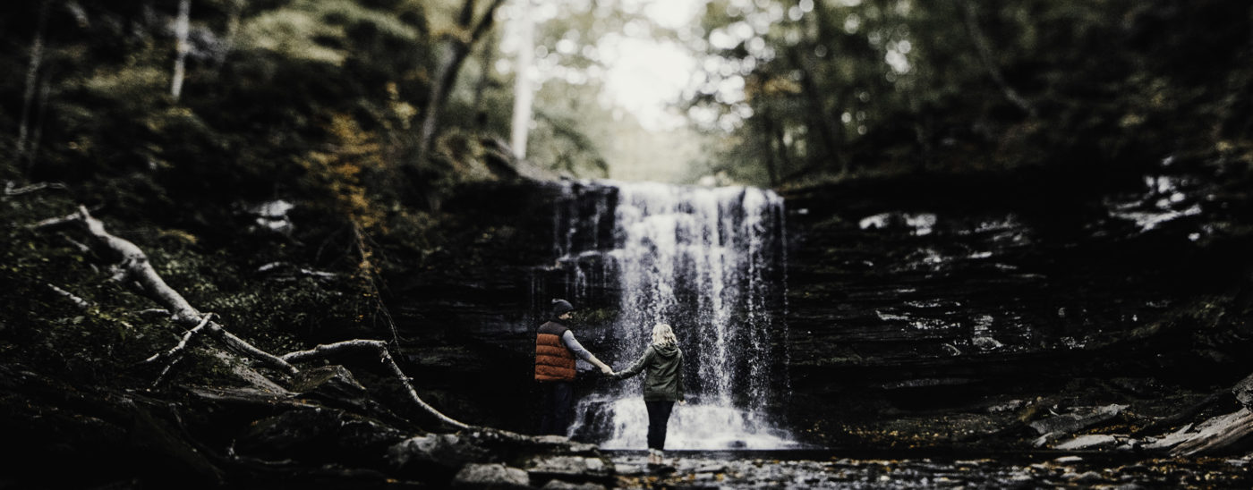 Allison & Eric | Ricketts Glen State Park