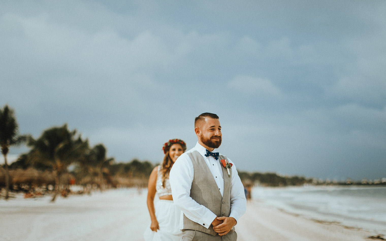 Alex & Nick | Secrets Maroma Beach Wedding - Twisted Oaks Studio