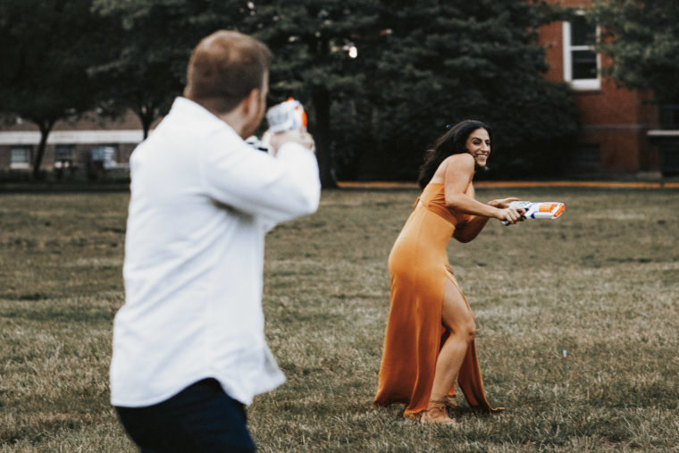 Nerf Gun Engagement