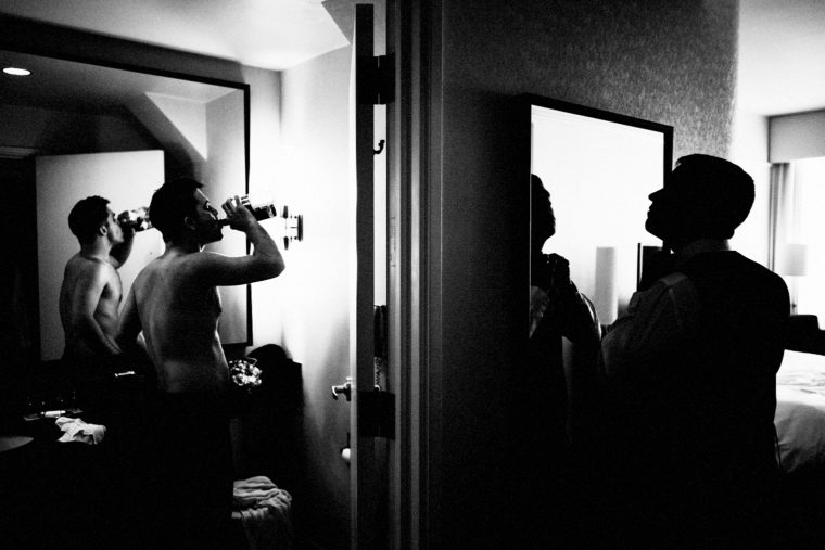 Loews Hotel Groom Prep