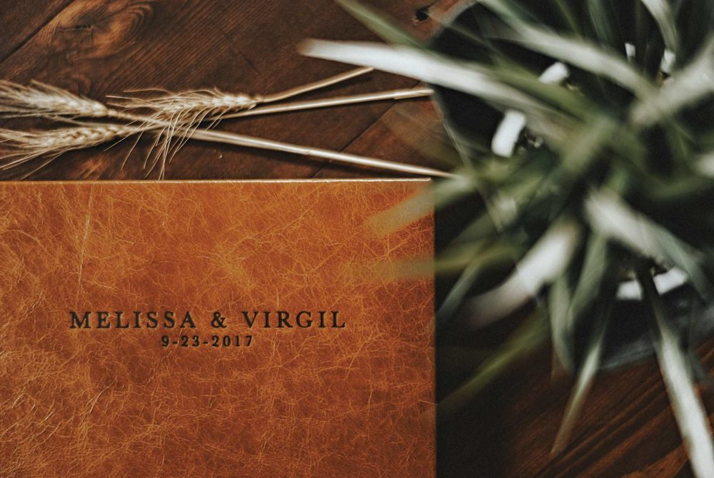 The Best Leather Wedding Album