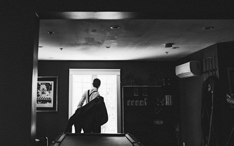 Philly Wedding Photographer groom prep