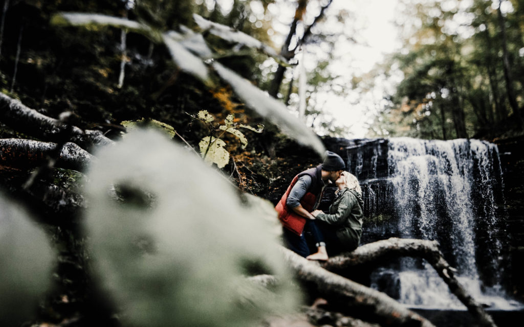 adventurous engagement shoot