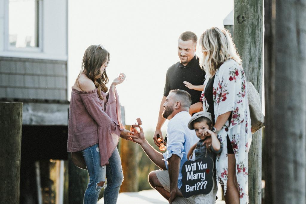 Surprise Proposal Captured