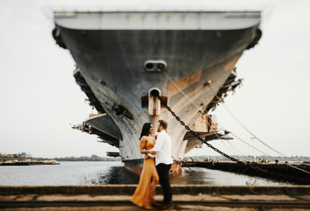 Navy Base Engagement Shoot