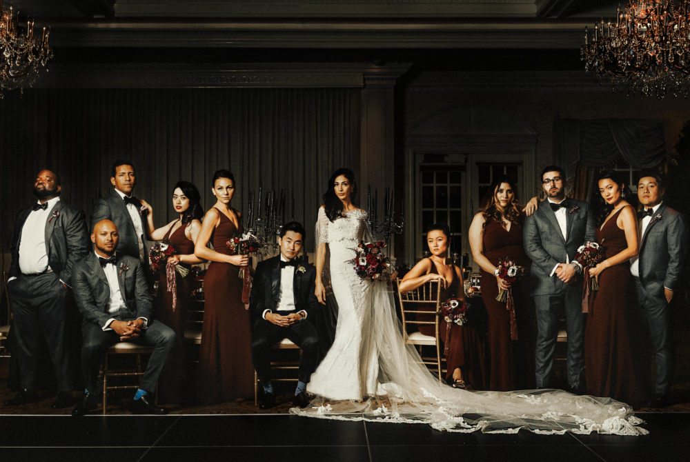 GQ Style Bridal party photo