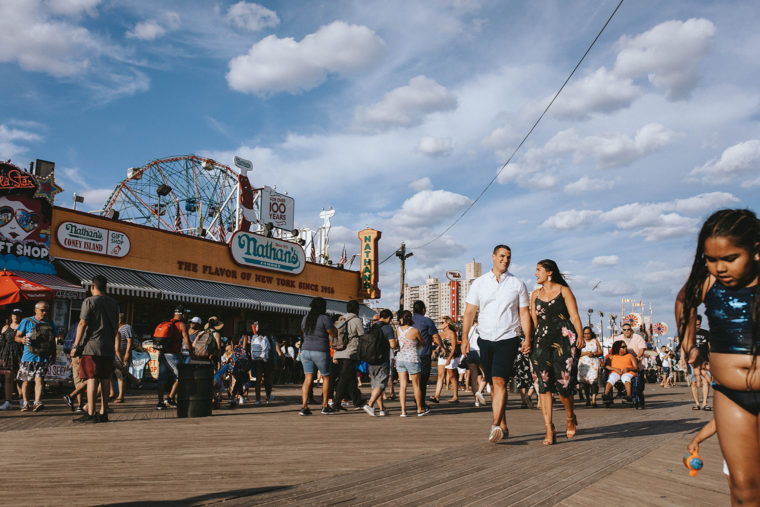 Coney Island Engagement Session