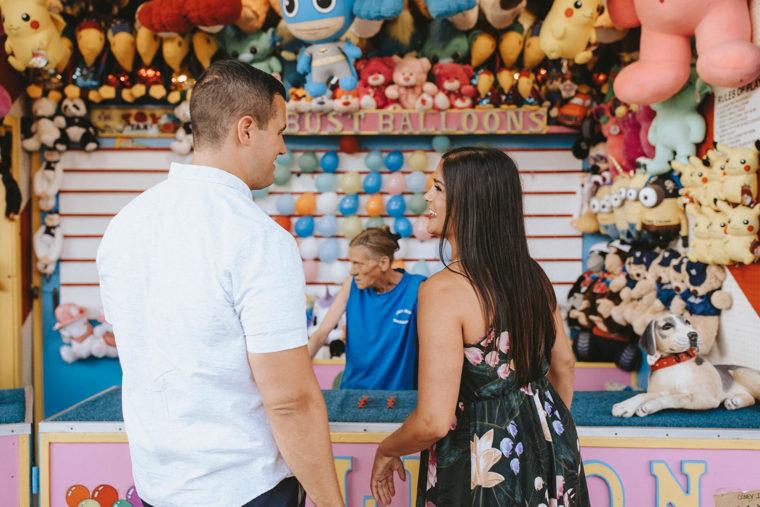 Coney Island Engagement