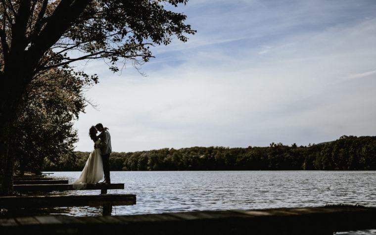 Mountain Springs Lake Wedding