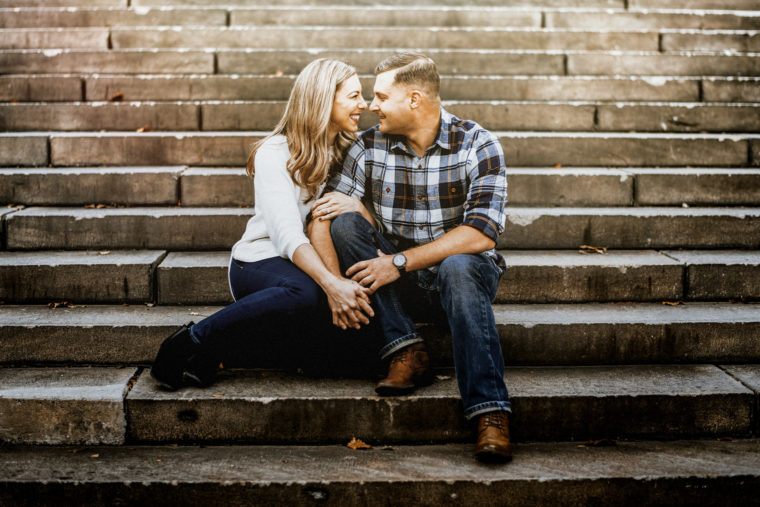 Philly engagement shoot