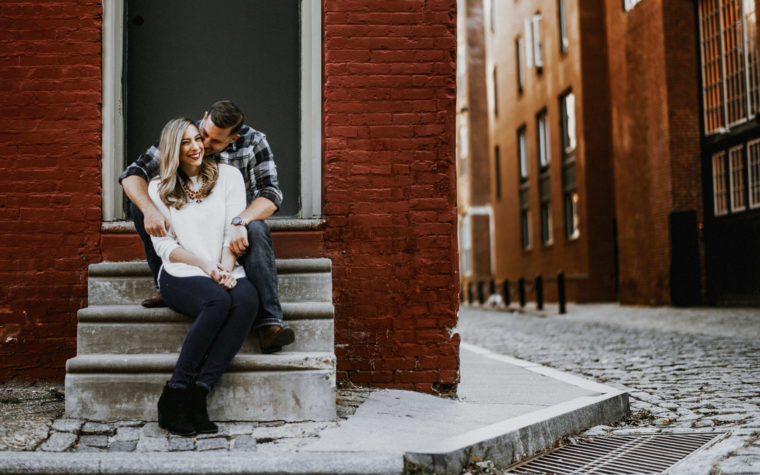 Old City Engagement Shoot