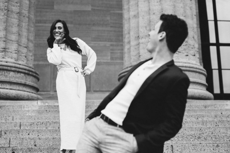 Art Museum Engagement Shoot