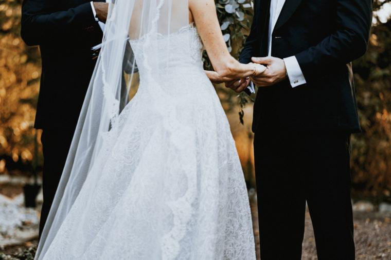 Oscar de le Renta bride