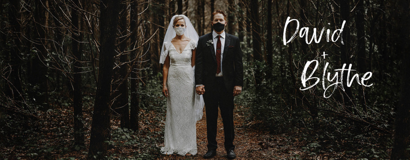 COVID Wedding Ceremony | David & Blythe