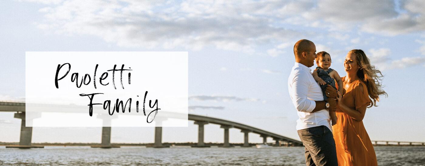 Lifestyle Family Beach Session | Paoletti Family