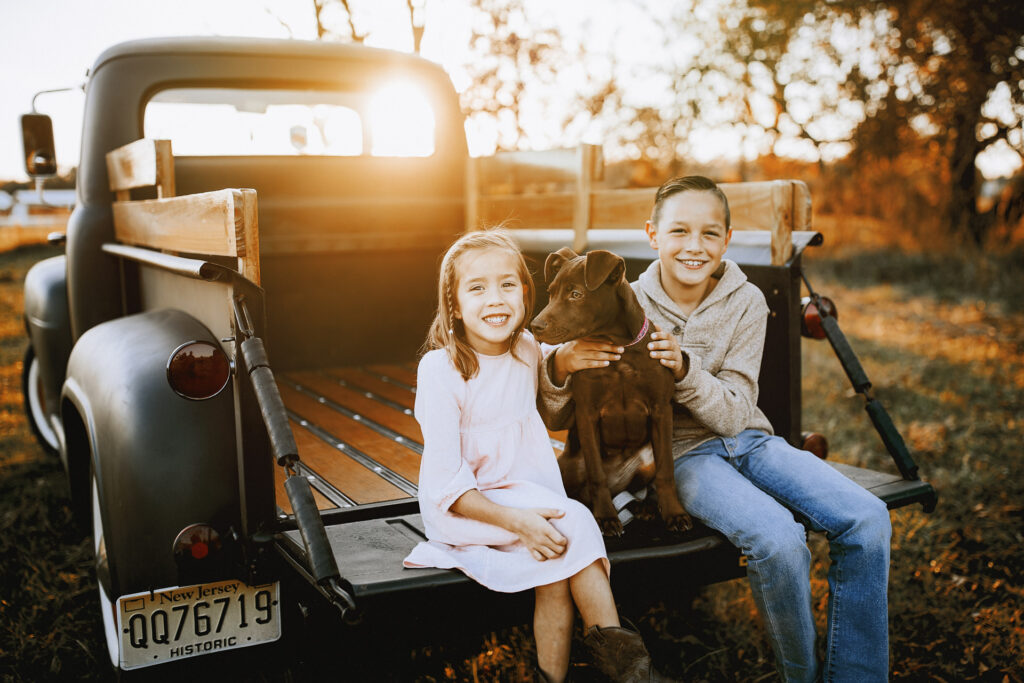 Family Farm lifestyle shoot