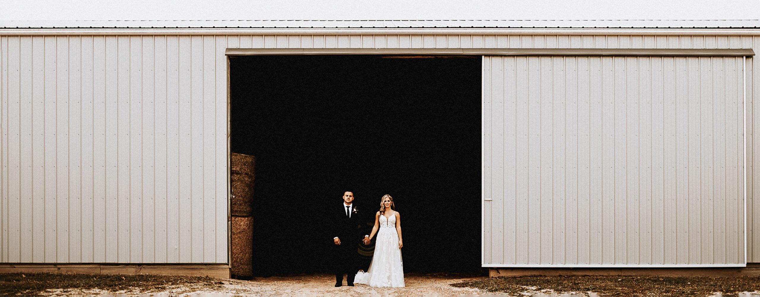 Family Farm Wedding | Brianna & Steve