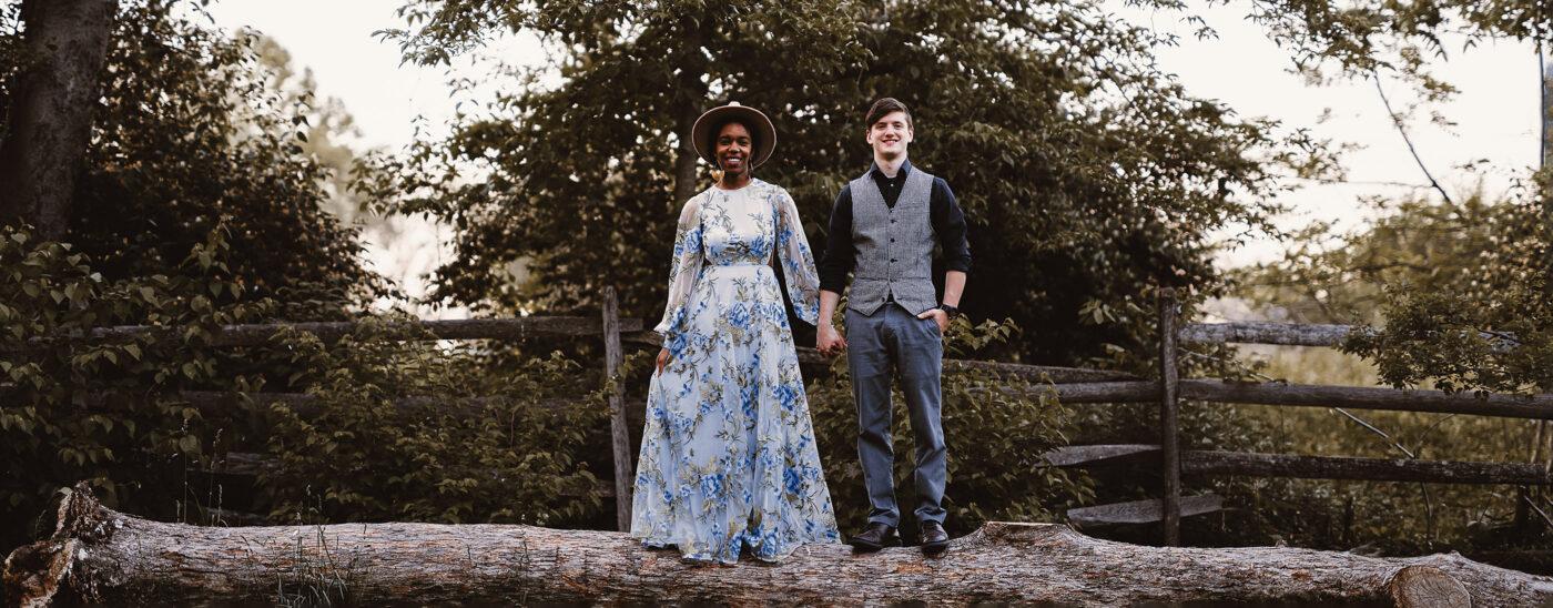 Bartram's Garden Engagement | Noah & Madisen
